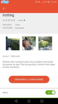 HorseGlobe-screenshot-demarrer-randonnee-chamaneetmarinette